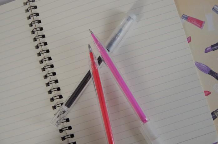 無印良品|こすって消せるペン