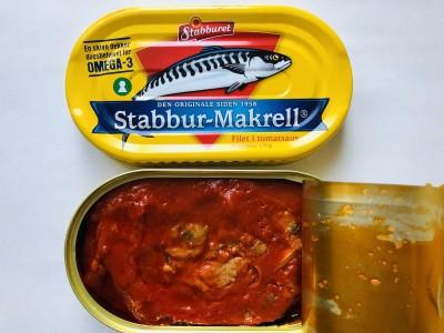 カルディサバフィレ(鯖のトマトソース煮)