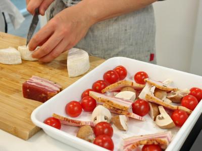 野田琺瑯でオーブン調理