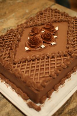 チョコレートブーケーケーキChocolateBouquetCake商品番号16873-ChocolateBouquet
