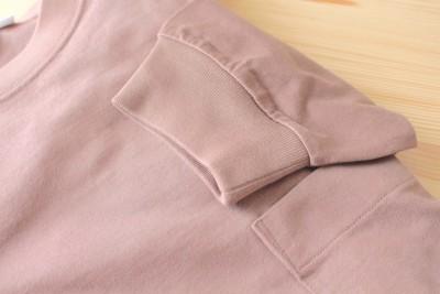 袖口のリブがあることで、着るだけでオシャレに見えます