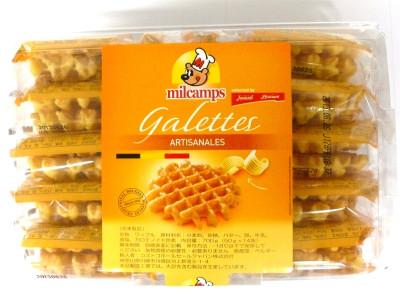 コストコ ミルキャンプ ベルギー バター ワッフル