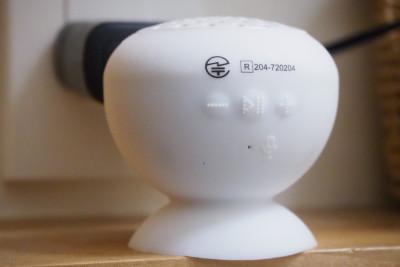 ダイソーワイヤレススピーカー操作ボタン