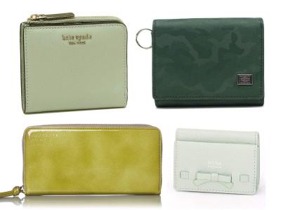 お財布の色のおすすめはグリーン