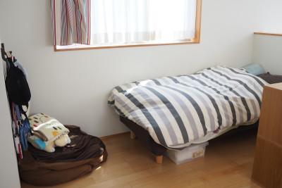 無印のベッドはコンパクトさが魅力!