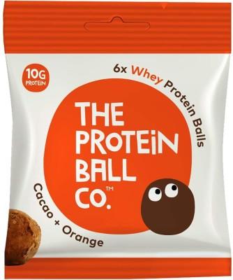 ホエイプロテインボールカカオオレンジ:タンパク質10g/156cal 価格388円(税込)
